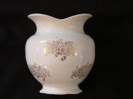 W.S. George Vase with gold flower design [Kitchen] - $14.99