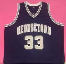 Patrick Ewing Georgetown Hoyas College Jersey Any Size Free Wwjd Bracelet - $29.99