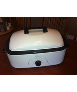 Rival Roaster Oven 18 quart Capacity RO180 ? with rack & 3 buffet server - $45.00