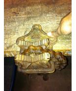 "4"" vintage antique billings spencer bottom screw bench chain plumbing pi... - $58.41"