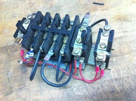 ge 4 pole contactor 20A cr124 overload os-92a heaters - $26.00