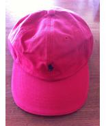 NWT Men's RALPH LAUREN POLO sport baseball cap Hat 5- Panel Red  - $19.79
