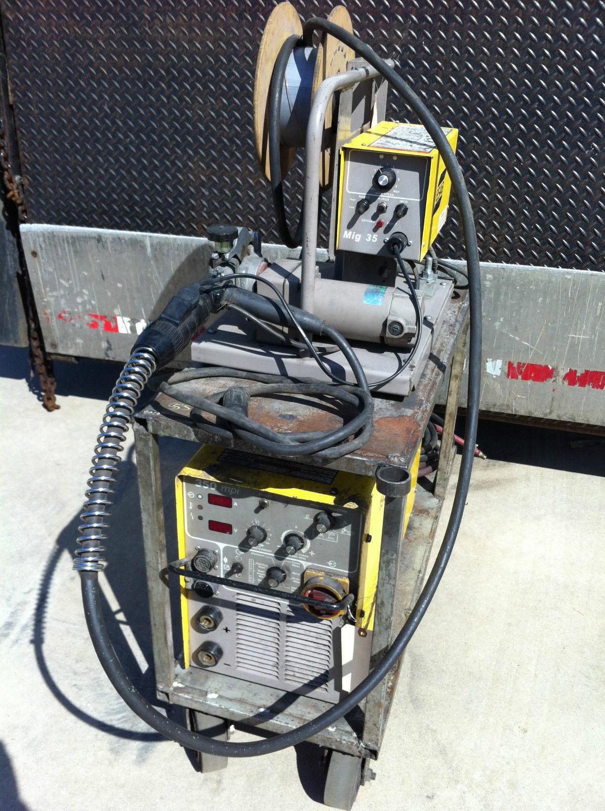 Esab 350 Mpi Multi Process Mig Tig Welder and 50 similar items