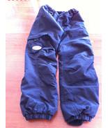 Obermeyer OBX i-Grow Black Snow Pants Overalls Ski Size 7 Preschool - $35.64