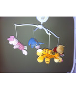 WINNIE THE POOH CLASSIC MUSICAL MOBILE PIGLET TIGGER EEYORE TOO - $37.35