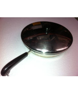 1801 revereware revere ware 12 chicken skillet fry pan lid copper clad s... - $74.25