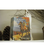 The Talking Leaves Indian Girl Story W. O. Stoddard HC/DJ * Free Dream C... - $14.99