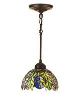 "Meyda 8""W Tiffany Honey Locust Mini Pendant Lighting Ceiling Fixture 123... - $277.83"