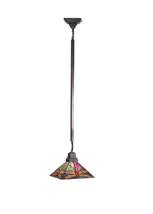 "Meyda Home 10""Sq Prairie Dragonfly Pendant Lighting Ceiling Fixture - 12... - $321.20"