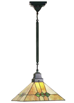 "Meyda Home 13""Sq Martini Mission Pendant Lighting Ceiling Fixture - 1235-49116 - $307.80"