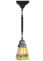 "Meyda 5""Sq Martini Mission Mini Pendant Lighting Ceiling Fixture - 1235-49120 - $221.80"
