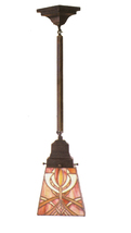 "Meyda 5""Sq Glasgow Bungalow Mini Pendant Lighting Ceiling Fixture - 1235-49137 - $253.60"