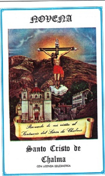 Novena   santo cristo de chalma s33 x
