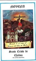 Novena - Santo Cristo de Chalma - $2.99