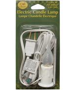 Mini Electric Candle Lamp - New - $4.89