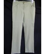 MAX STUDIO Pants 2 Waist 31 Inseam  32 Rise 9 Light Green 4 Pockets  REA... - $22.30