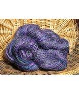 combo mix yarn NJY mohair silk purple rain evenings - $7.00