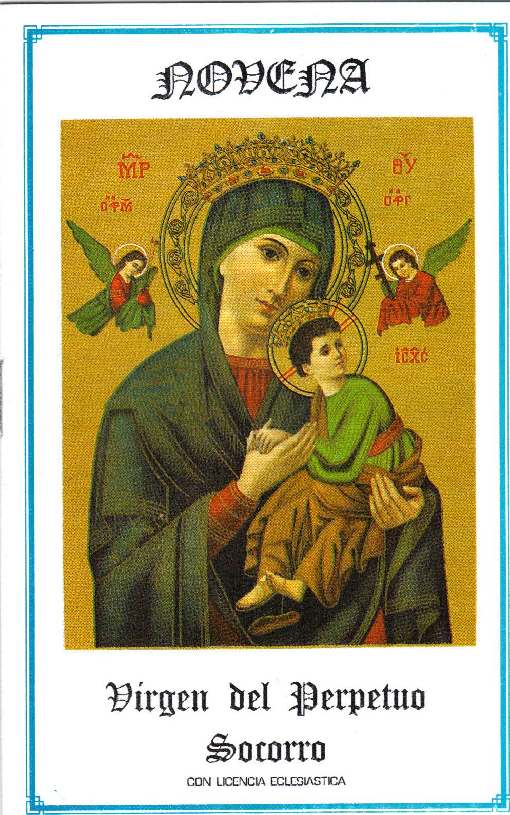 Virgen del perpetuo socorro s46