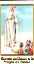 Novena en Honor a la Virgen de Fatima