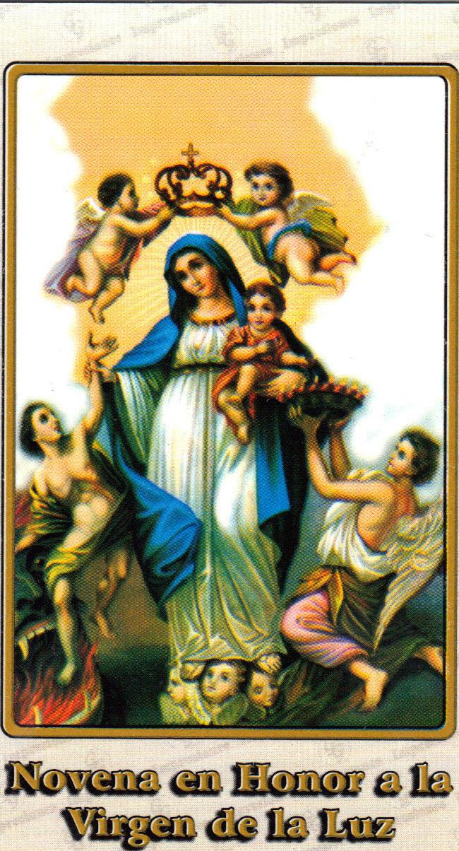 Novena en honor a la virgen de la luz 330 17