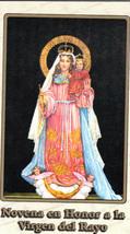 Novena en Honor a la Virgen de la Rayo