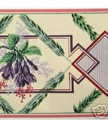 25y CLARENCE HOUSE Regency Floral Art Deco WP Border  - $72.00