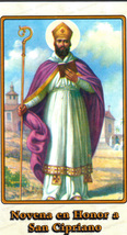 Novena en Honor a San Cipriano