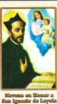 Novena en Honor a San Ignacio de Loyola - L330.0021