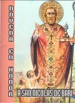 Novena en Honor a San Nicolas de Bari - L330.0089