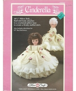 "Pillow Doll 10.5"" 13"" Crochet pattern Fairy Tale theme Cinderella Muffet Mary li - $9.99"
