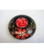 Thai Handmade Mango Wood Flower Crystal Art Candle Holder - $12.00