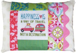 Happiness Is A Way of Travel Words of Wisdom 9x... - $18.00