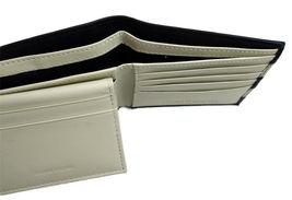 Tommy Hilfiger Men's Leather Wallet Passcase Billfold Navy Bone 31TL22X040 image 7