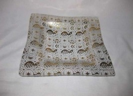 """Great Vintage 10"""" X 10"""" Georges Briard Square Plate Tray - $48.19"""