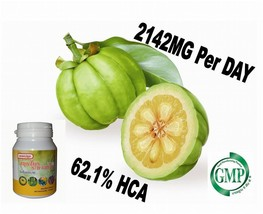 100x Natural Garcinia Cambogia 2142mg/daily Weight Loss Diet Pills Fat B... - $11.87