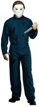 Michael Myers Halloween I Overalls Jumpsuit Costume with Free Knife! - $51.48
