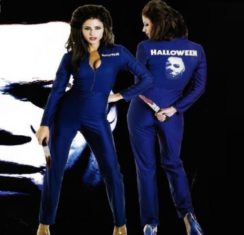 Sexy Michael Myers Womens Halloween I Jumpsuit  Halloween Costume