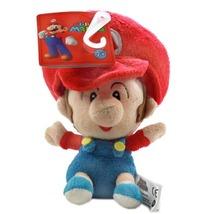 Nintendo Super Mario Brothers: Baby Mario 5 Inch Tall Plush Brand NEW! - $16.99