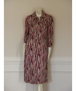 EUC - DIANE von FURSTENBERG POLLY DEE MARBLE PAPER DASHA DRESS  - US 6 -... - $97.64