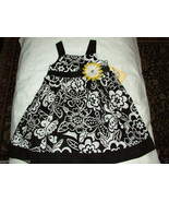 Good Lad Baby Girl Black&White Floral Dress,18 Months, NWT - $12.86