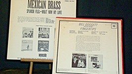 Spanish Flea by the Mexican Brass & Bill Doggett and his combo records AA20-RC21 image 2