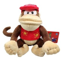 Nintendo Super Mario Brothers: Diddy Kong 6 Inch Tall Plush Brand NEW! - $19.99