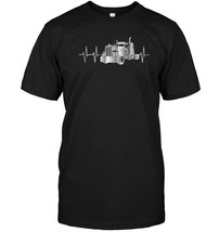 Trucking Heartbeat Diesel Brothers Big Rig Shirt FrontBack - $17.99