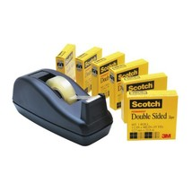 Scotch Brand Double Sided Tape with Deluxe Desktop Tape Dispenser, Long-... - €26,40 EUR