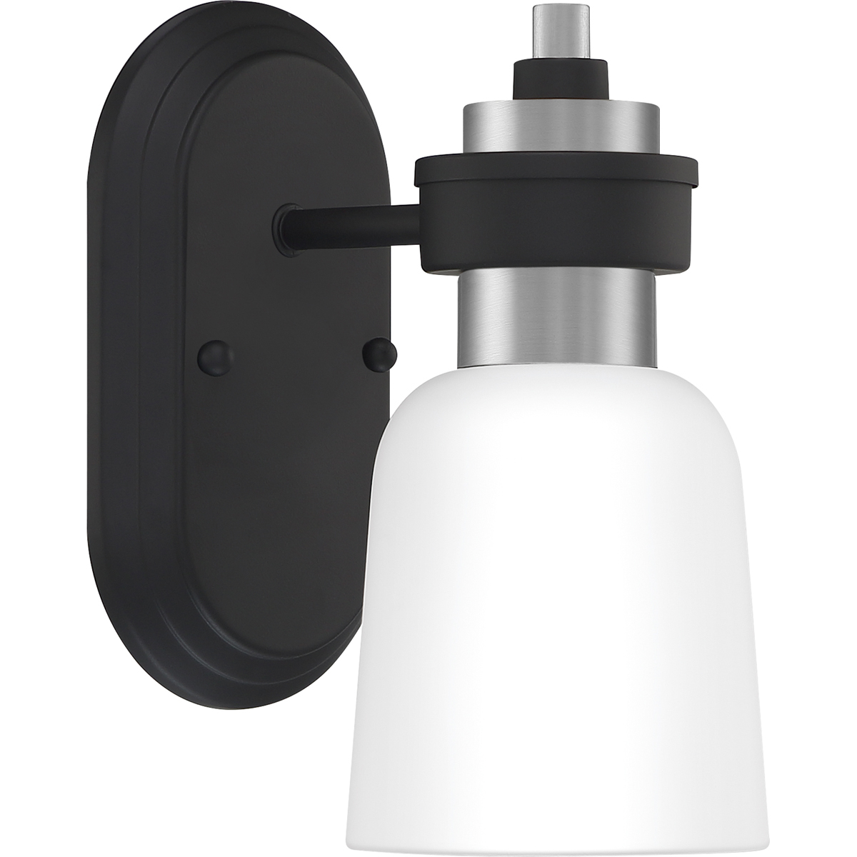Conrad 1-Light Wall Sconce in Brushed Nickel - $59.99