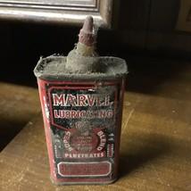 Vintage Marvel Lubricating Oil 4oz tin can man cave Super Blend - $62.37