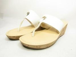 Liz Claiborne Lively Womens Sandals  8M White Size 8M - $38.69