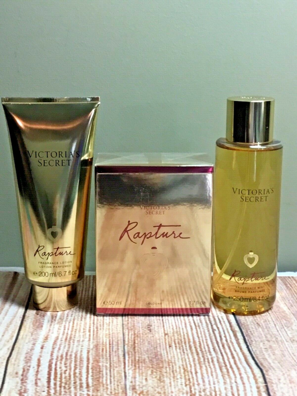 Primary image for Victoria's Secret Rapture fragrance mist & lotion cologne full size New