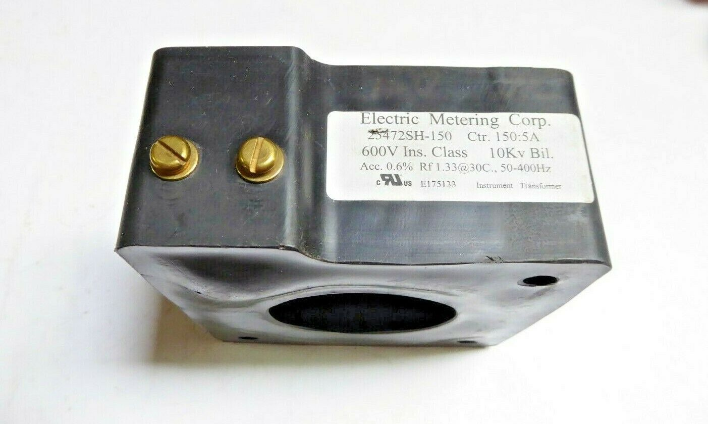 Electric Metering Corp E175133 Instrument Transformer 600V New