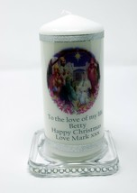 Personalised gift  Christmas Candle Nativity Scene | Cellini Candles   #1 - $18.01